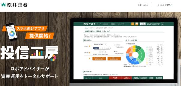 松井証券ウェブサイト(投信工房)